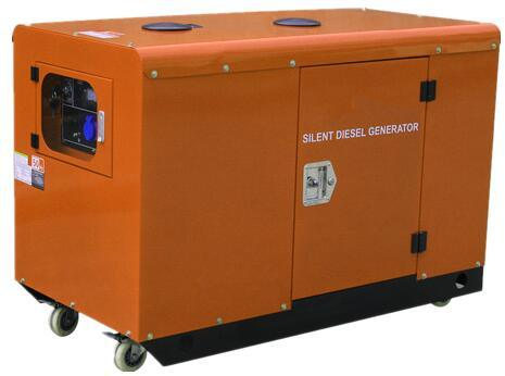 10kw Silent Diesel Generator Set with AC Three Phase pictures & photos