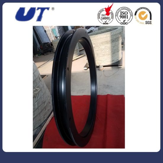 China Factory Trailers Parts Single Row Ball Slewing Bearing Turntables pictures & photos