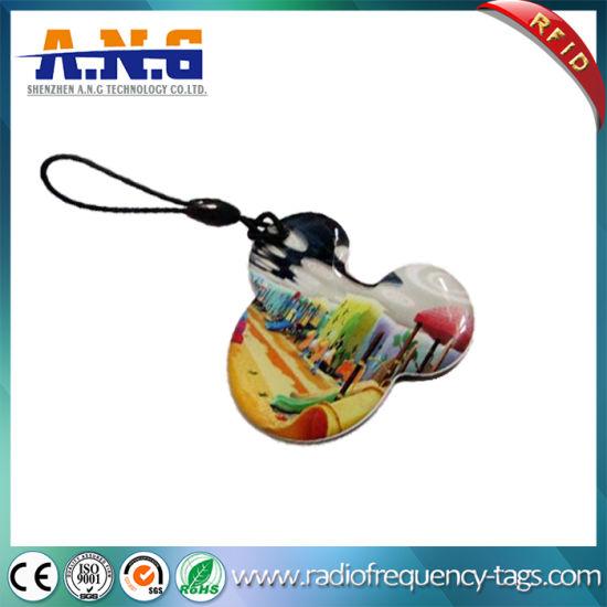 China Passive Crystal Epoxy NFC RFID Tag Waterproof with