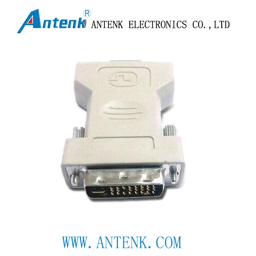 DVI Adapter White Color Insulation Shell