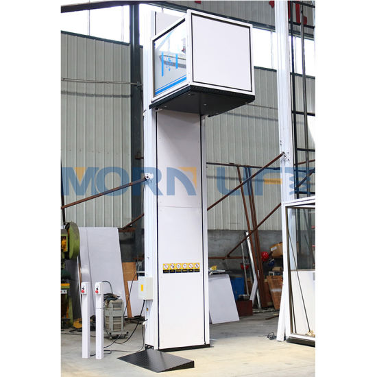 Morn Hydraulic Wheelchair Lift Small Elevators for Home Using