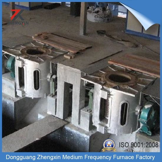 Electric Overturning Medium Frequency Induction Melting Furnace (20-2000kg) pictures & photos