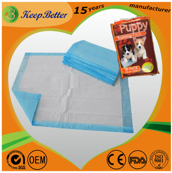 Dog Pad Doggy Pet Animal Urine Wee Wee Training Pad pictures & photos