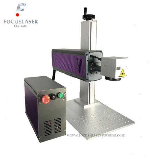 China Focuslaser Galvo Spilt Type CO2 Laser Tag Equipment Top Fiber