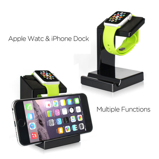 Iwatch Charging Stand Bracket Docking Station Holder for 2015 Apple Watch 38/42mm Sport Edition pictures & photos