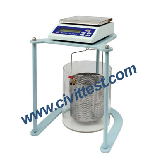 Hot Sell Specific Gravity Test Electronic Digital Hydrostatic Balance pictures & photos