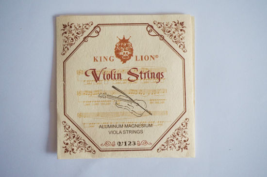 Sinomusik Wholesale Violin Parts King Lion Brand Aluminum Magnesium String pictures & photos