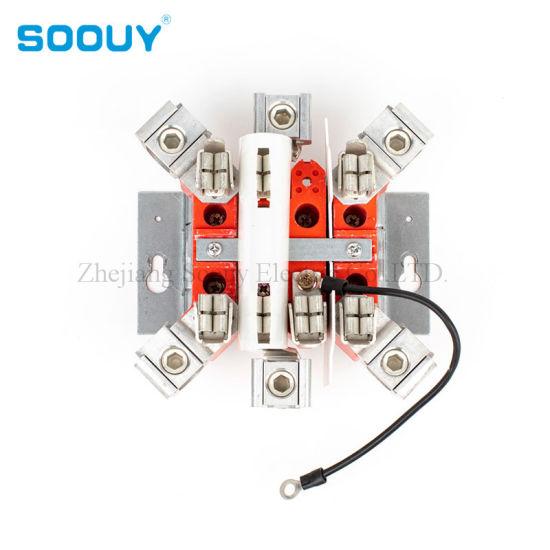 China Supplier Ring/Ringless 200A 4jaws Meter Socket Parts