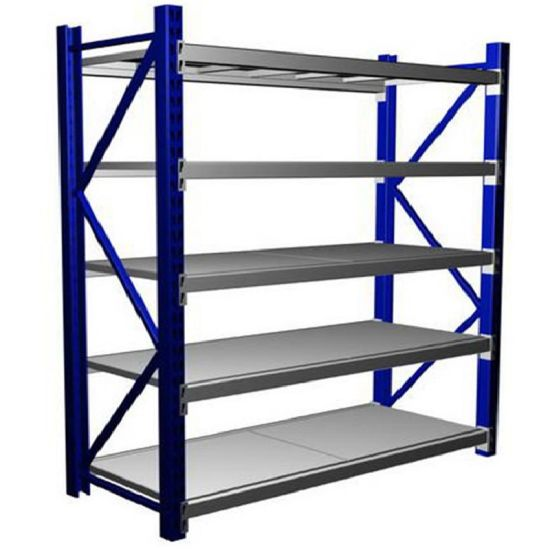 High Capacity Steel Middle Duty Warehouse Shelving for Storage