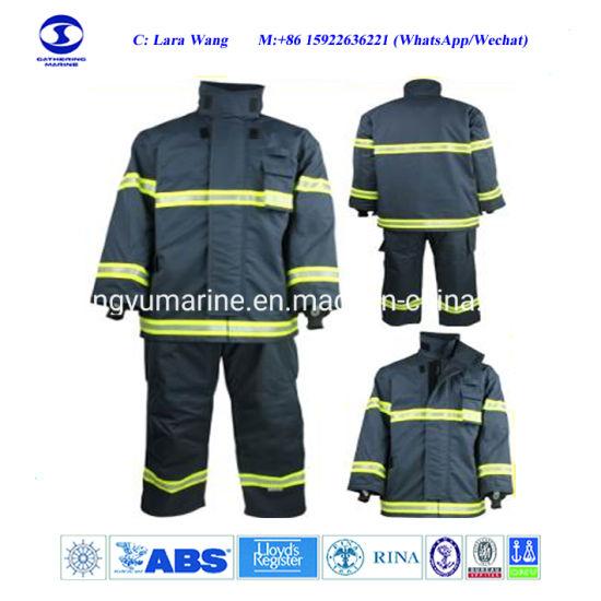 En Standard Fire Fighting Suit Fireman Uniform