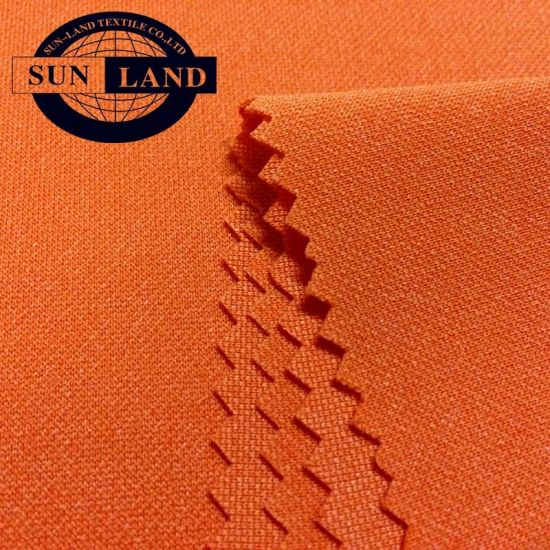Anti Snagging Soccer Suits 100% Polyester 100d Pk Interlock Knitted Jersey Fabric