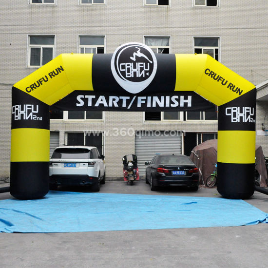 26′ Custom Outdoor Sport Using Inflatable Finish/Star Line Arch (BMCT29) pictures & photos