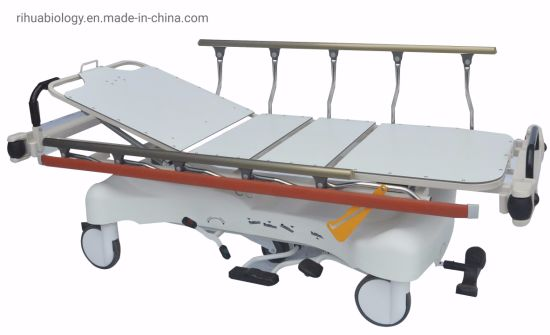 Rh-D210 Hospital Luxurious Rise and Fall Stretcher Cart