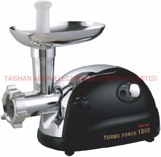 Hot Sale High Power Meat Grinder Black Mincer Kitchen Appliance pictures & photos