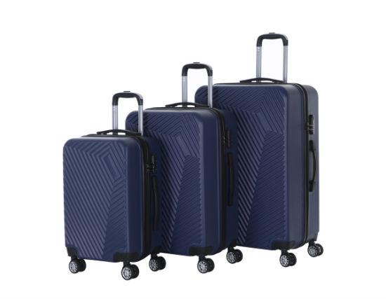 Most Hotsale 2019 Model Suitcase Set, 360 Degree Shopping Trolley Luggage Bag (XHA131)