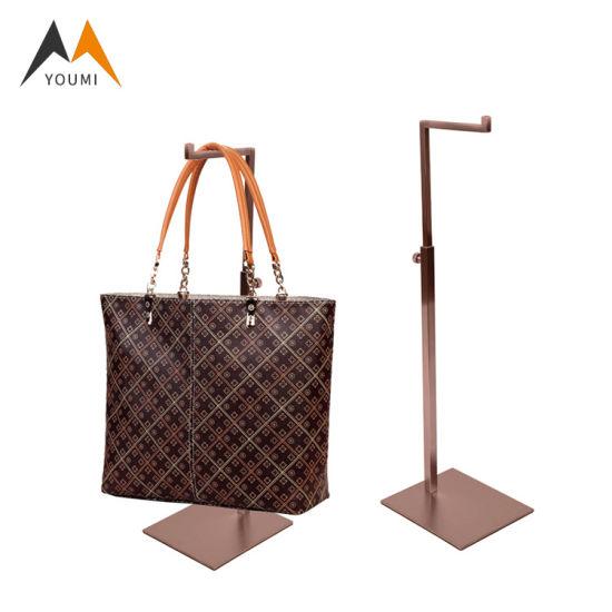 Factory Price Wholesale Modern Stainless Steel Hang Bag Display Rack