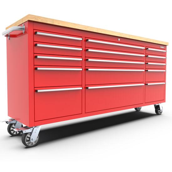 China Kinbox 15 Drawer Heavy Duty Tool, 72 Tool Cabinet