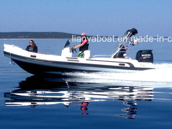 Liya 19FT 22FT 12 Persons PVC/Hypalon Rib Boat Manufacturers