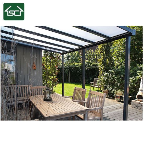 Cover Terrace: China Durable Aluminium Frame New Design Balcony Roof And