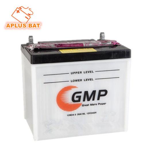 French Market Hot Sale Model 12n24-3A 12V24ah Batterie De Tondeuse