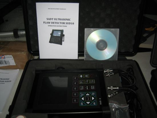 Portable Digital Ultrasonic Flaw Detector (SUD10) with Software to PC pictures & photos