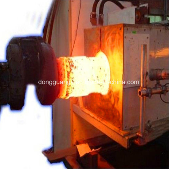 China Nuts and Bolts Head Heat Induction Hot Forging Machine