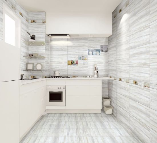 Ceramic Floor Tile and Wall Tile for Bathroom and Kitchen (300X600mm)
