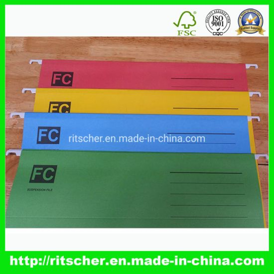 File Folder with FSC Certificate of School/Office Stationery
