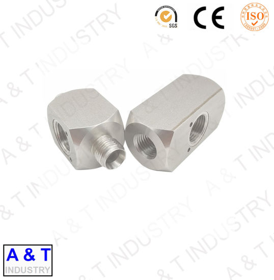 Stainless Steel Precision Hydraulic Pipe Fitting