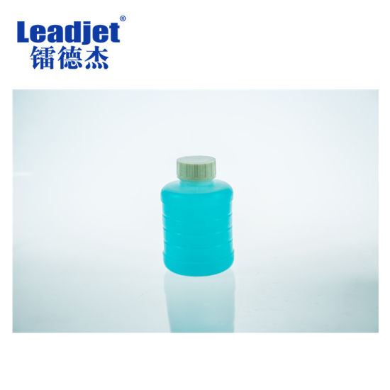 Continous Automatic Inkjet Printer Dry-Ink Bottle Plastic Coding Machine pictures & photos