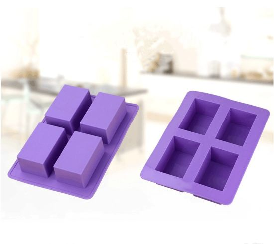 China Beautiful Design Eco Friendly Custom Silicone Soap Molds