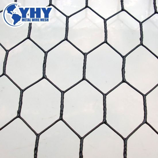 China Galvanized PVC Coated Hex Iron Wire Mesh Fence - China Wire ...
