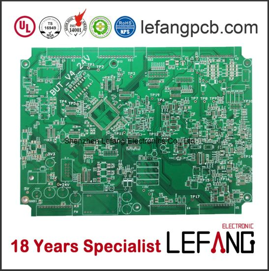 china green solder mask pcb board circuit for family television rh lefangpcb en made in china com