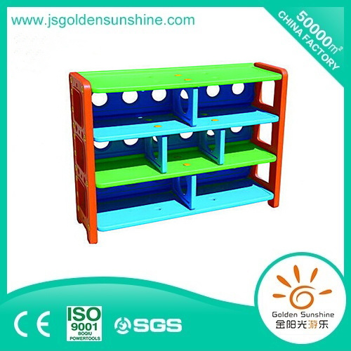 Kid's Furniture Plastic Toy Collecting Shelf storage Cabinet with Ce/ISO Certificate