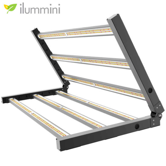 ETL Listed WiFi Dimmable Lm301b Full Spectrum Greenhouse 600W LED Grow Light with UV Bar