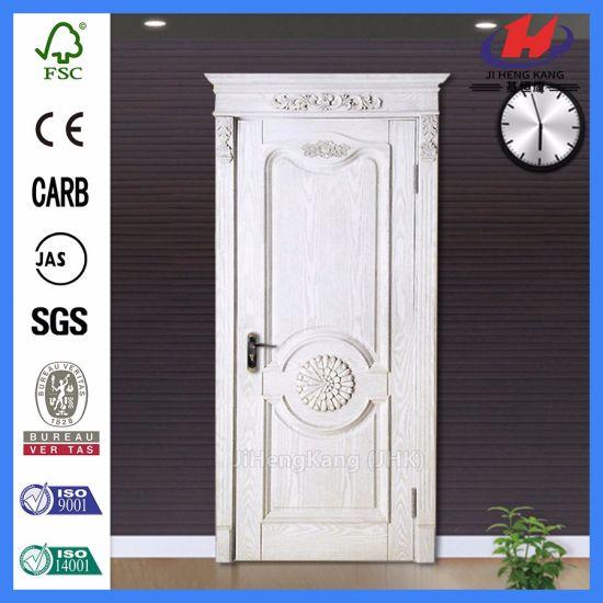 China Mahogany Interior Rustic Interior Doors Wood Carving Door