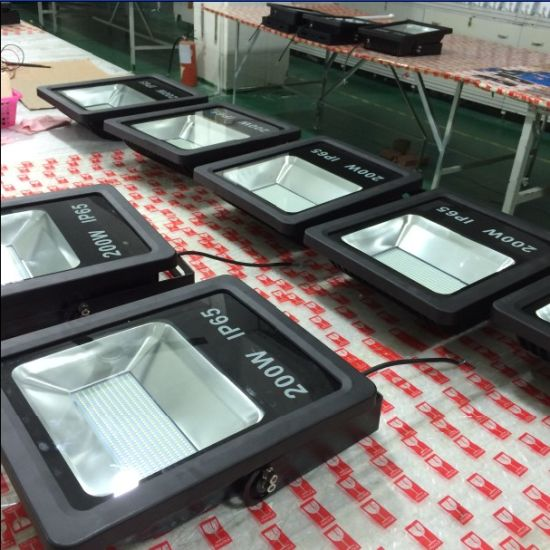 High Power CRI>80 100lm/W 200W SMD LED Flood Light pictures & photos