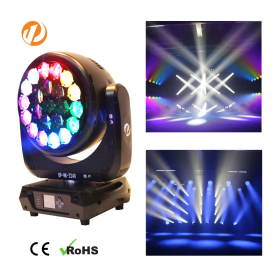 Hawk Eye 22*40W RGBW 4in1 LED Beam Moving Head DJ/Club/Disco Light