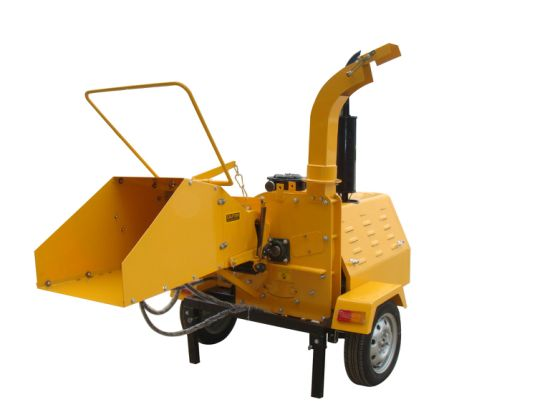 40HP Heavy Duty Diesel Engine Hydraulic Mobile Wood Chipper