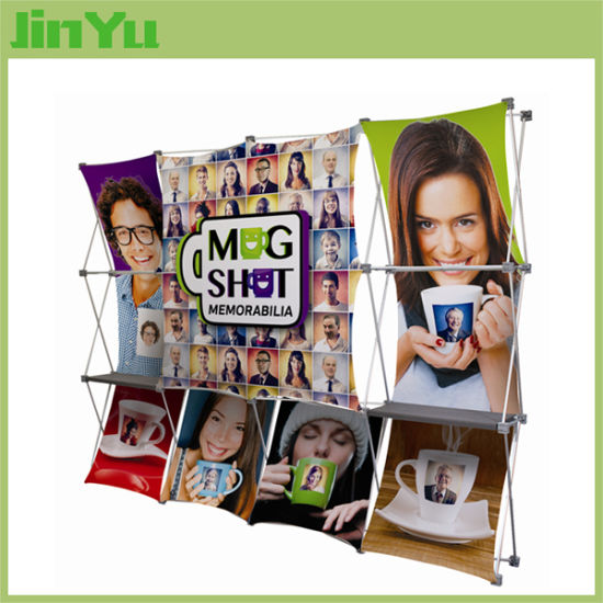 3D Fabric Pop up Display Stand pictures & photos