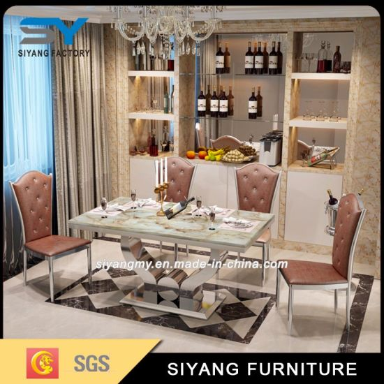 Dining Furniture Dining Table Luxury Dining Set Chairs And Tables