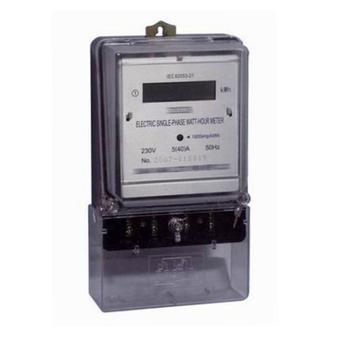 Single Phase Static Kwh Meter with Tamper-Proof Function