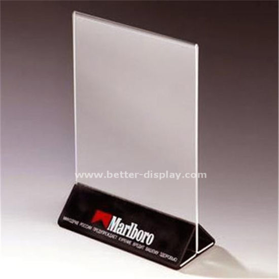 Cheap Acrylic Plastic Drink Menu Holder (BTR-I6029) pictures & photos