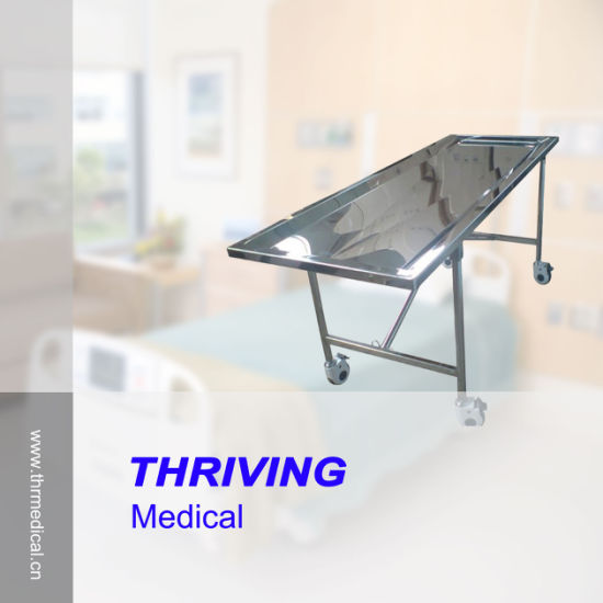 Full Stainless Steel Funeral Embalming Table (THR-104) pictures & photos