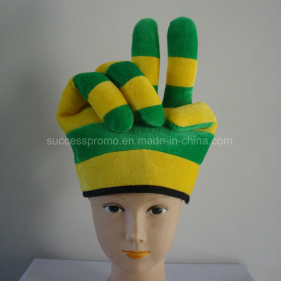 Hands Sharp Soccer Fans Hat with Customized Logo