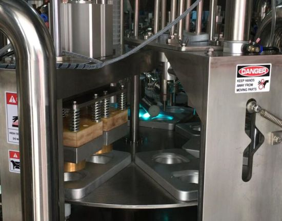 Ss304 Rotary Type Automatic Cup Filling Sealing Machine (VR-2) pictures & photos