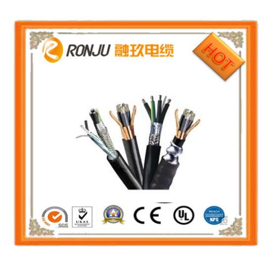 China 1.5 Electric Wire BV Single Core Black PVC Coated Copper Wire ...