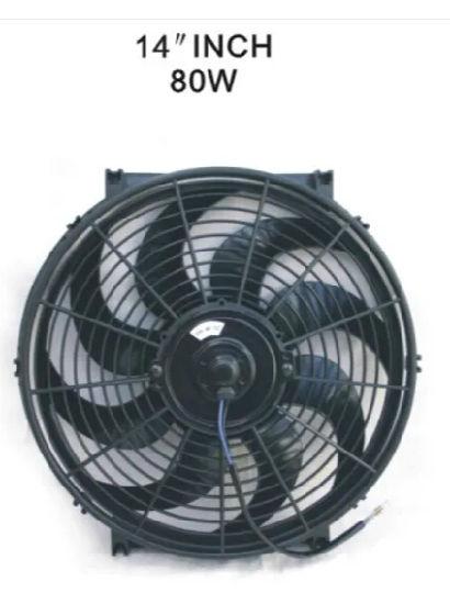 DC 12V 24V 12inch Axial Condenser Cooling Brushless Motor Fan