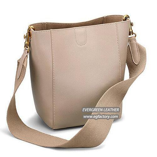 China New Design Lady Handbag Genuine Leather Ladies Shoulder Bags