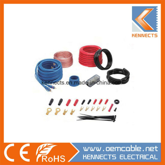 KE K-8H Car Wiring Kit Car Kit Amplifier Kit pictures & photos